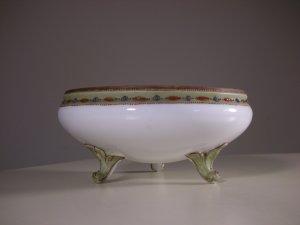 Vintage Noritake Nippon Morimura Hand Painted Porcelain SERV BOWL (3 Legs)
