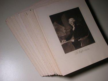 Antique A.W. Elson Co Boston Photogravures 9 x 12 Prints (168)