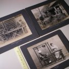 Vintage Philadelphia Museums Cabinet Photos Japanese People Japan (3 PCS)