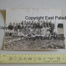 Original Tatsui Studio Photograph - Japanese Boys Farmer School (Signed 新崎盛幸)