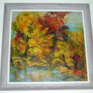 "20thc Grace Jorgensen American Impressionism Oil Painting ""Sugar Maple"" - Signed"