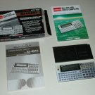 Vintage Sharp EL5510 Basic Programmable Computer Pocket Calculator & Box Manuals