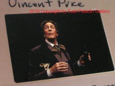 VP04 1970s Martha Swope Original Film Slide Diversions & Delight - Vincent Price
