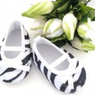 Zebra Crib Shoes