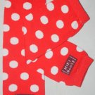 Red Polka Dot Leg Warmers