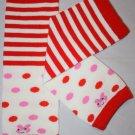 Striped & Polka Dot Leg Warmers