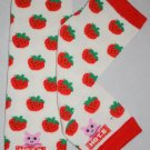 White Strawberry Leg Warmers