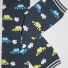 Navy Cars Leg Warmers