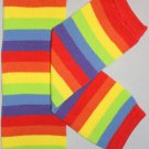 Rainbow Stripe Leg Warmers