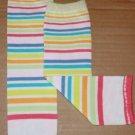 Girly Stripe Leg Warmers