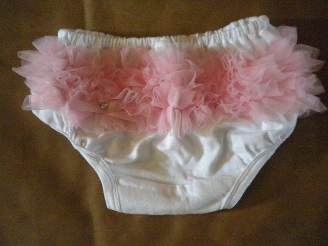 Pink Ruffle Bottom Bloomers