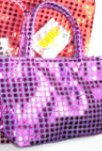 Purple Sequin Purse