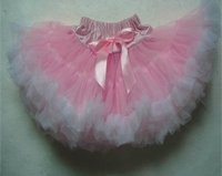 Pink and White Pettiskirt