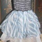 Zebra Print Princess Dress