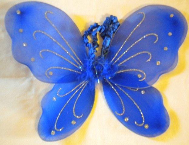 Royal Blue Butterfly Wings