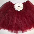 Burgundy Tutu - University of Oklahoma Tutu