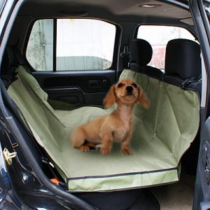 Army Green WATERPROOF HAMMOCK Pet Car Seat Cover Dog Mat Blanket YL024