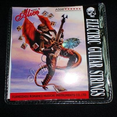 Alice A506 Electric Guitar Strings Set Nickle Wound Super Light 10149
