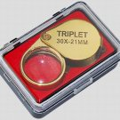 Glass Jewelers Magnifier Magnifying Eye Loupe 30x 21mm A0302