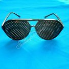 PINHOLE EXERCISE NATURAL HEALING GLASSES VISION IMPROVE KF-287B 10310