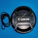 1x 58mm Snap on Lens Cap for CANON Rebel XT EOS 18-55mm 10094