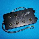 Black Noiseless Good Balance 4 String Musicman Bass Guitar Magnetic Acoustic Pickup 10218