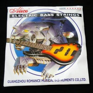 Alice A606(6)-M Electric Bass Guitar 6 Strings Set Nickel Plated Steel Core 10309
