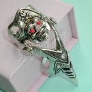 FINAL FANTASY Claw Iron Reaver Armor Finger Ring Pirate with Red Eyes A0483