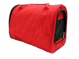 Pet Carrier Dog Cat Soft Travel Tote Comfort Tent Airline Approved Red A0736