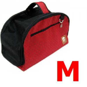 Red Medium Comfort Pet Dog Cat Carrier Soft Travel Tote Tent Airline Approved A1002-M