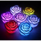 1x Romantic 7-Color Change Rose Flower LED Light Decor A0063