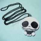New Pendant Necklace Sweater Chain Nightmare Before Xmas Jack Skellington Skull A1166