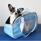 Comfort Carrier Large Pet Dog Cat Soft Travel Tote Blue  A1231