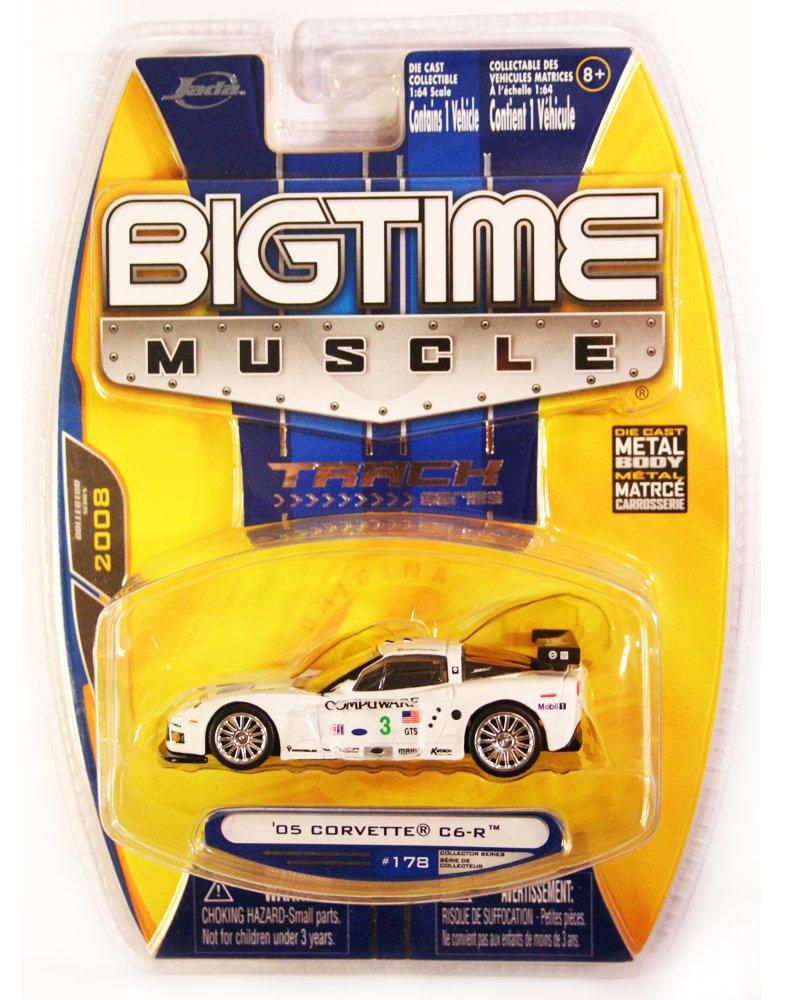 Jada BigTime Muscle 2005 Corvette C6-R