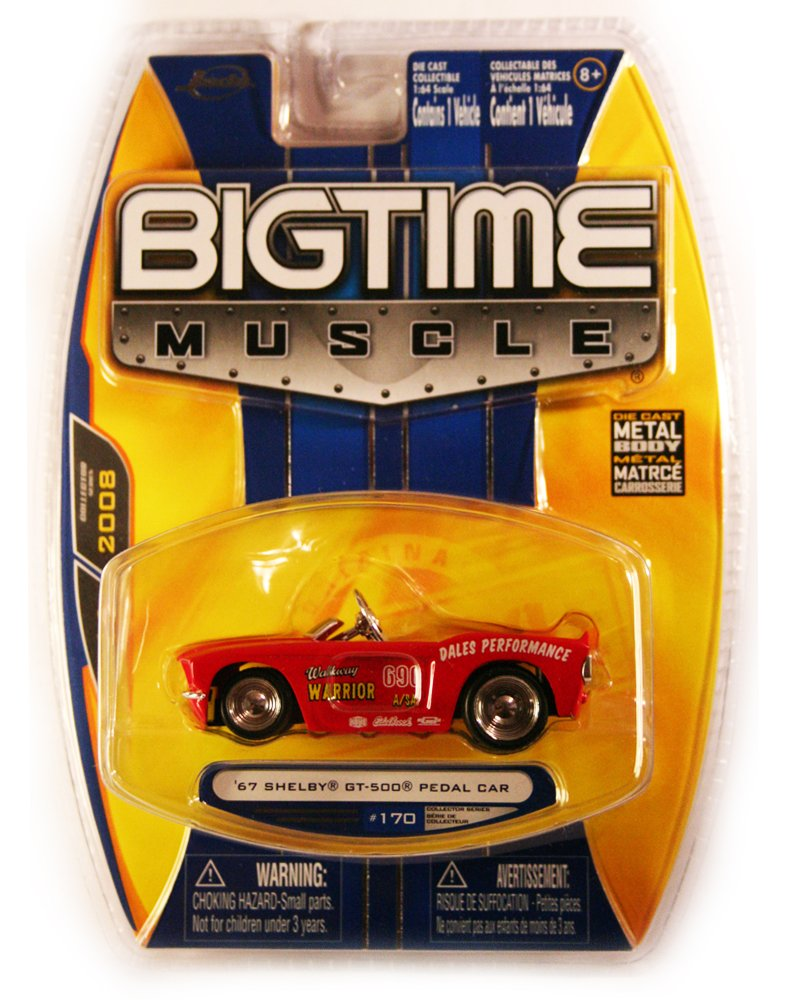 Jada BigTime Muscle 1967 Shelby GT-500 Pedal Car