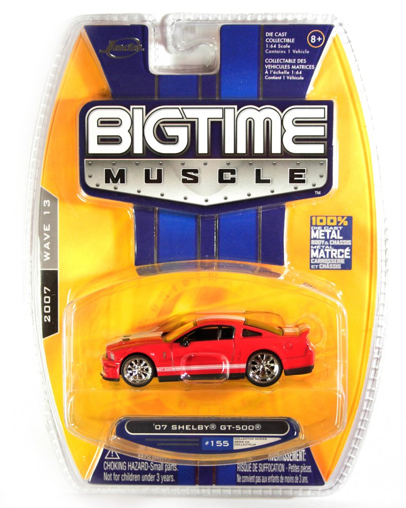 Jada BigTime Muscle 2007 Shelby GT-500