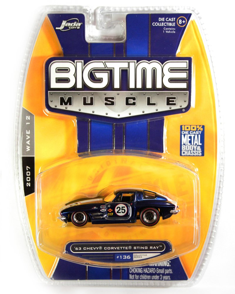 Jada BigTime Muscle 1963 Chevy Corvette Sting Ray