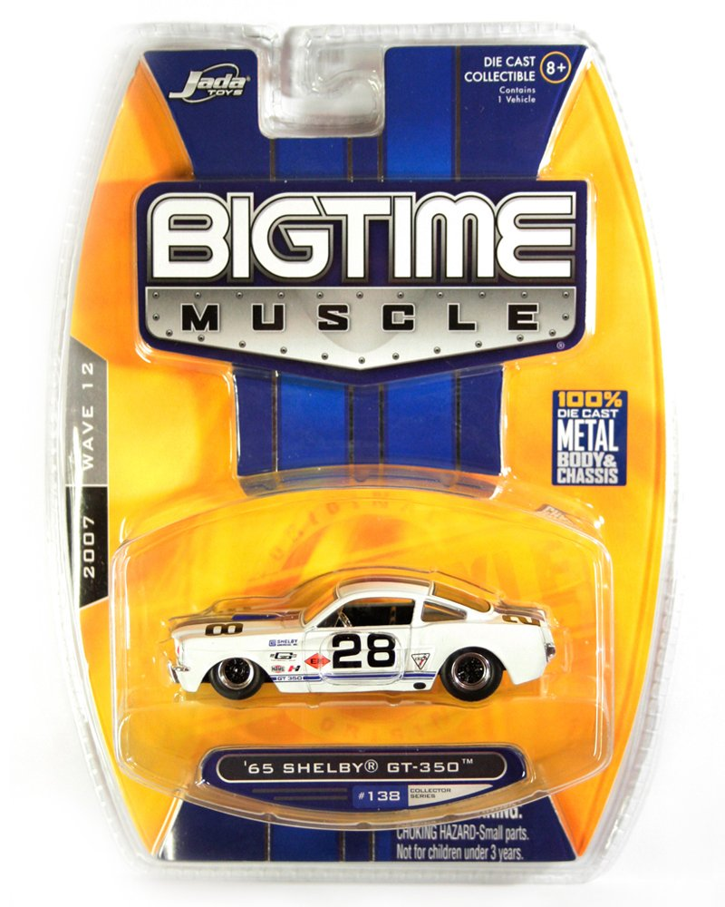 Jada BigTime Muscle 1965 Shelby GT-350