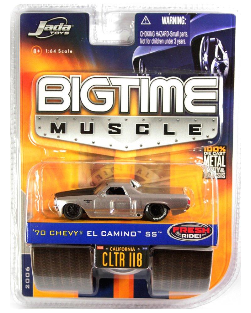 Jada BigTime Muscle 1970 El Camino SS - Black Wheels