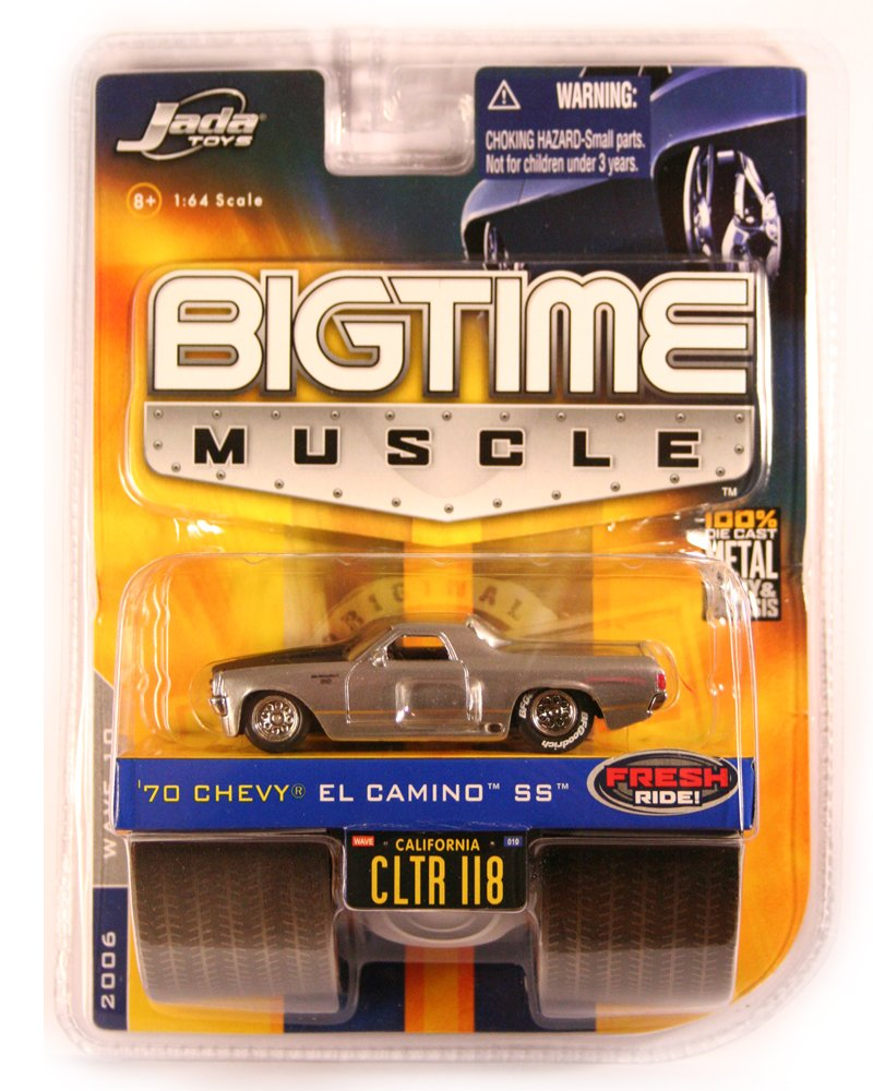 Jada BigTime Muscle 1970 El Camino SS - RARE CHROME WHEELS