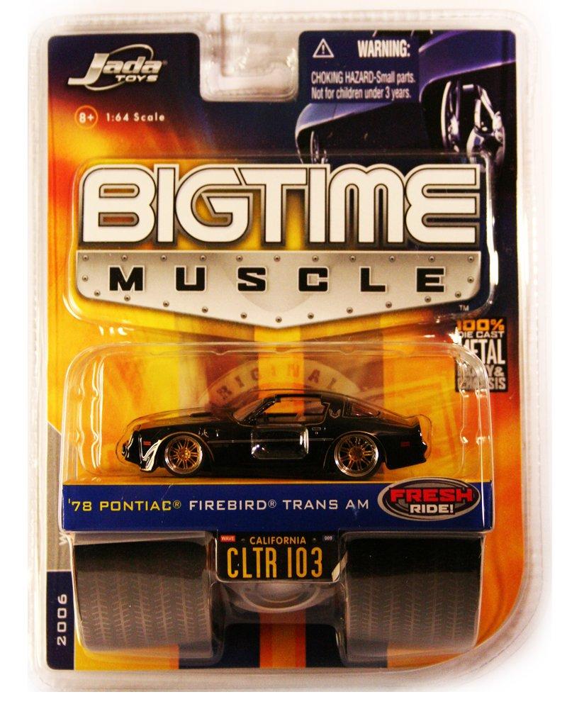 Jada BigTime Muscle 1978 Pontiac Firebird Trans Am