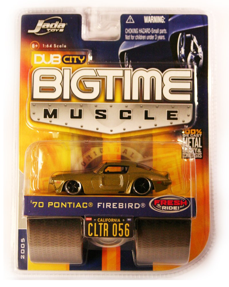 Jada BigTime Muscle 1970 Pontiac Firebird