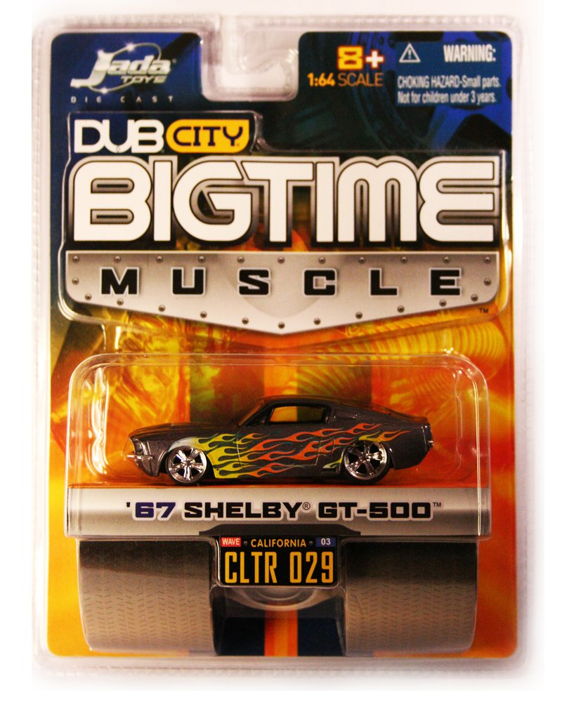 Jada BigTime Muscle 1967 Shelby GT-500