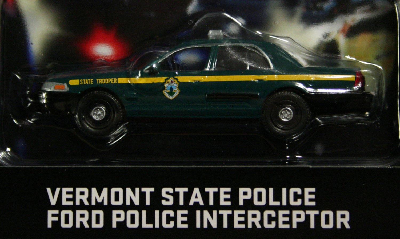 GreenLight Hot Pursuit 2009 Ford Police Interceptor Vermont St