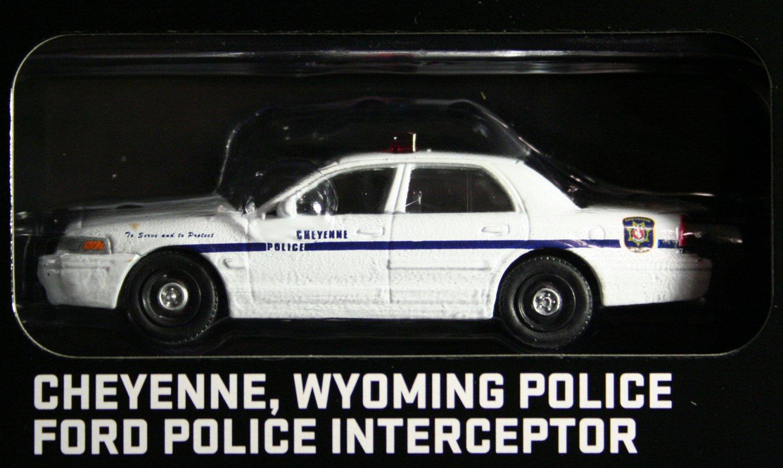 GreenLight Hot Pursuit 2009 Ford Police Interceptor Cheyenne WY