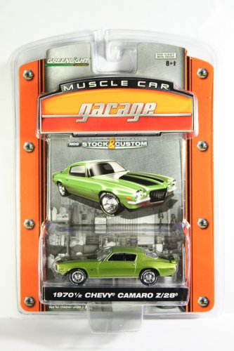 GreenLight 1970 1/2 Chevy Camaro Z/28 Muscle Car Garage Stock & Custom Series 1