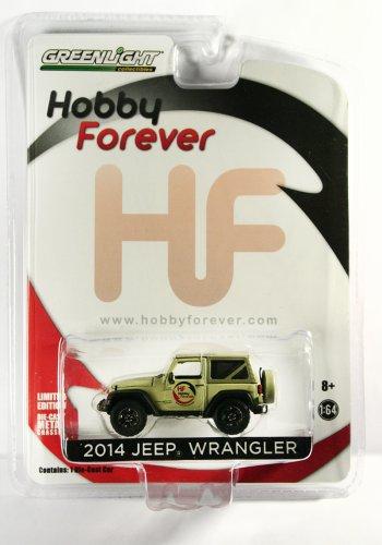 GreenLight 2014 Jeep Wrangler Hobby Forever - Indonesia PROMO ONLY