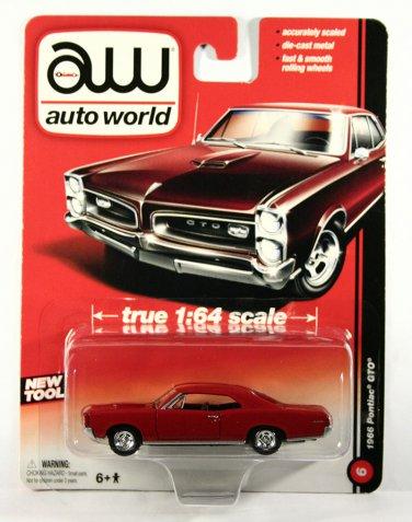 Auto World 1966 Pontiac GTO - RED