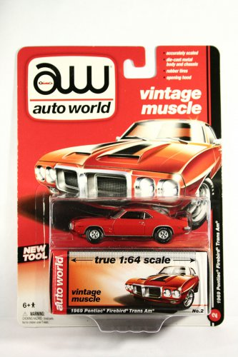 Auto World 1969 Pontiac Firebird T/A - RED