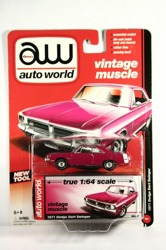 Auto World 1974 Dodge Dart Swinger - PINK